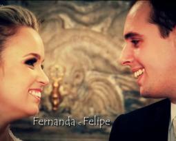 Video do casamento de Fernanda e Felipe no Rio de Janeiro